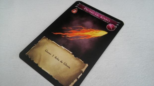 """Desaprovechar oportunidades, nivel no llamar a estar carta """"Fuego de Ira""""."""